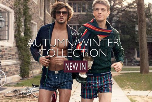 Tommy Hilfiger AW13 Underwear Collection