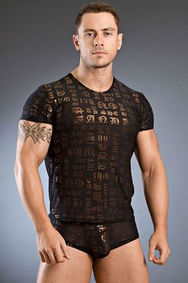 Body Art Karos Round Neck T-Shirt