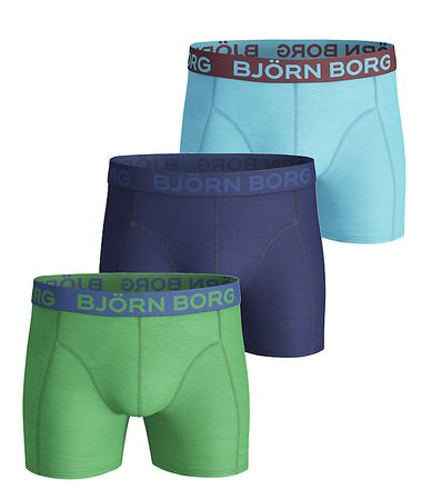 Björn Borg 3 Pack Seasonal Solid Trunks