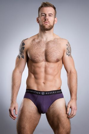 British Boxers Thistle Brief