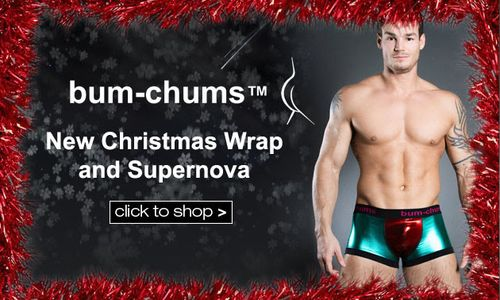 Bum Chums Xmas Wrap Collection