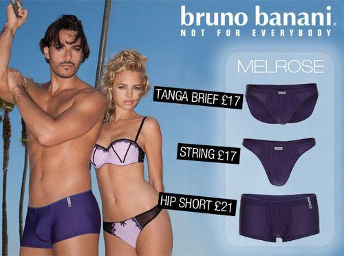 Bruno Banani Melrose Collection