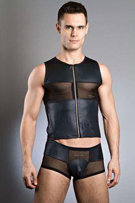 Body Art Fastos Zipped Vest