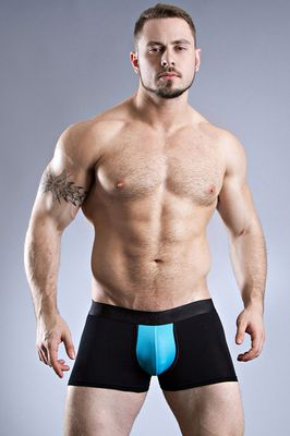 Boxair Black Breathable Boxer Brief
